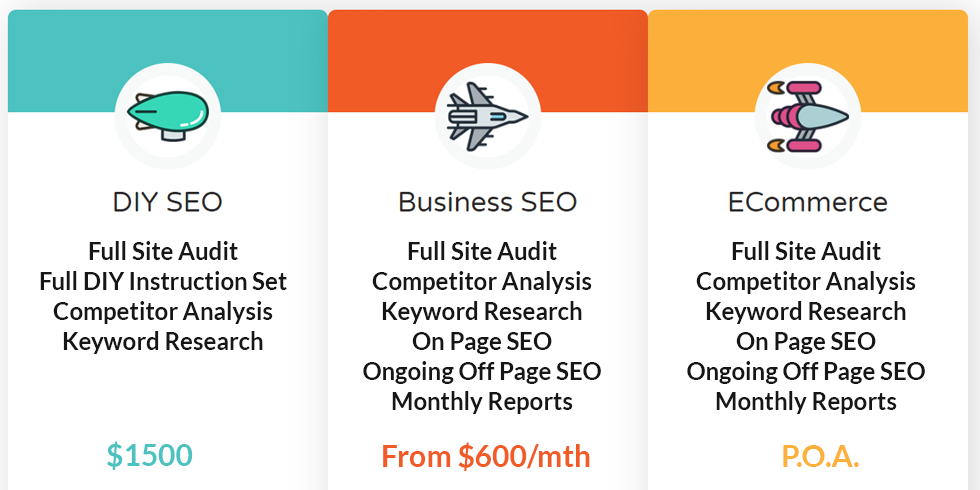 SEO packages to suit all businesses